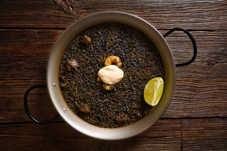 Black Paella