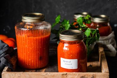 Quick Spicy Tomato Salsa for Croquettes
